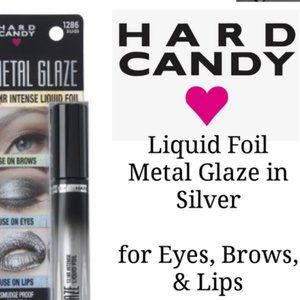 2 HARD CANDY Silver METAL GLAZE Eyes Lips Face NEW